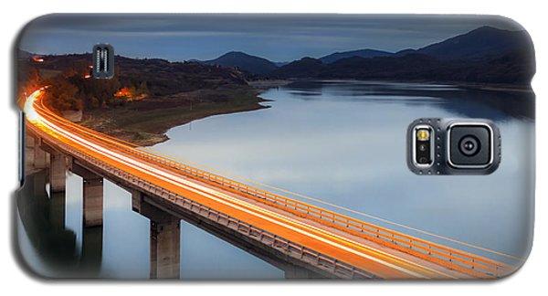 Glowing Bridge Galaxy S5 Case