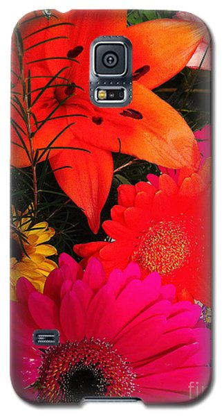 Galaxy S5 Case featuring the photograph Glowing Bright by Meghan at FireBonnet Art