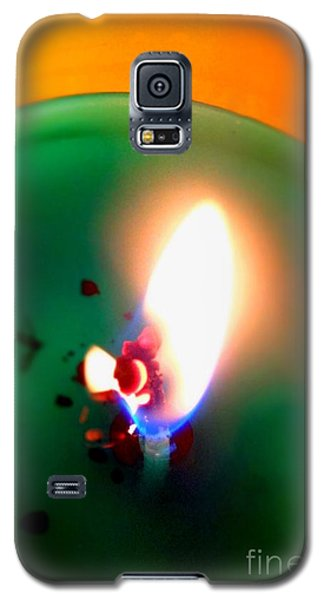 Glowing Candle Wick Galaxy S5 Case