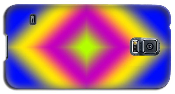Galaxy S5 Case featuring the digital art Glowing Diamond by Karen Nicholson