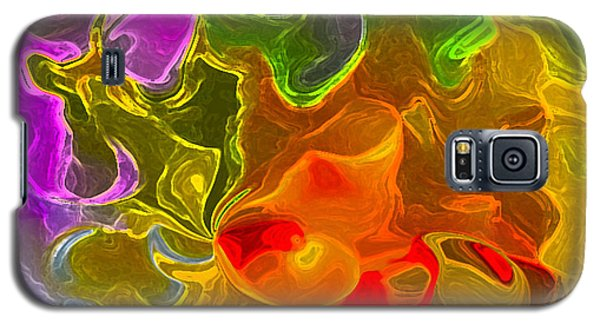 Galaxy S5 Case featuring the digital art Glowing Edges  by Gayle Price Thomas