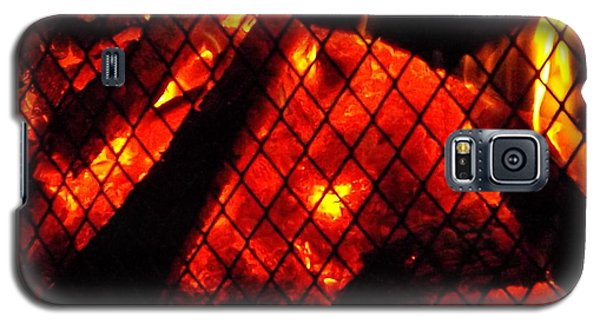 Galaxy S5 Case featuring the photograph Glowing Embers by Darren Robinson