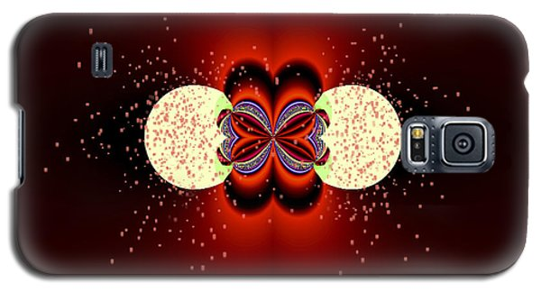 Galaxy S5 Case featuring the digital art Glowing by Melissa Messick
