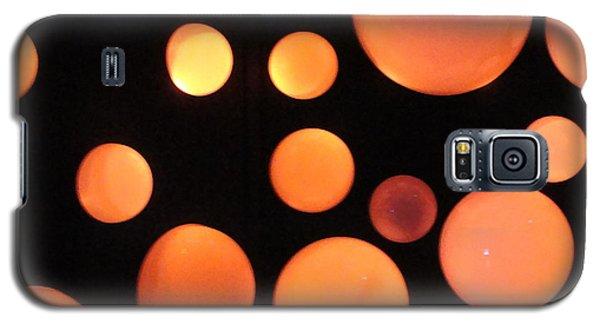 Glowing Orange Galaxy S5 Case by Tiffany Erdman