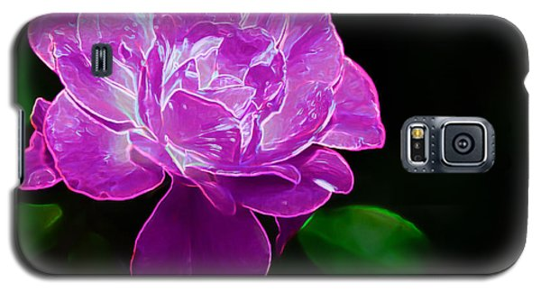 Glowing Rose II Galaxy S5 Case