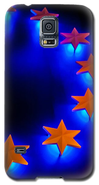 Glowing Stars Of Freedom Galaxy S5 Case by Dawn Romine