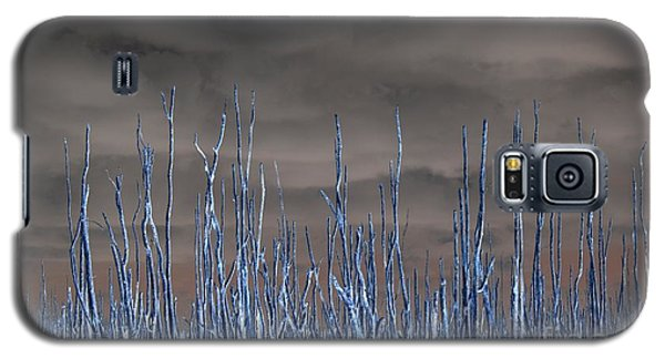 Glowing Trees 1 Galaxy S5 Case