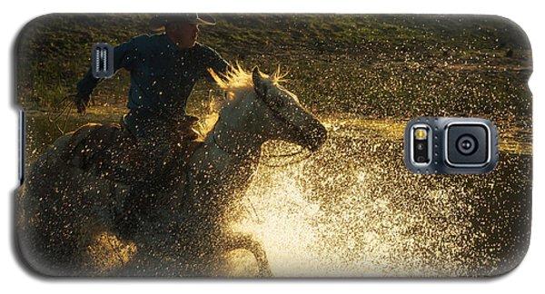 Go Cowboy Galaxy S5 Case by Ana V Ramirez