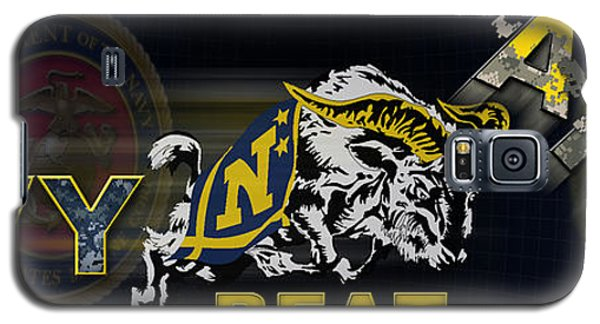 Go Navy Beat Army Galaxy S5 Case by Mountain Dreams