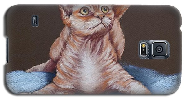 Galaxy S5 Case featuring the painting Go On Throw It Again by Cynthia House