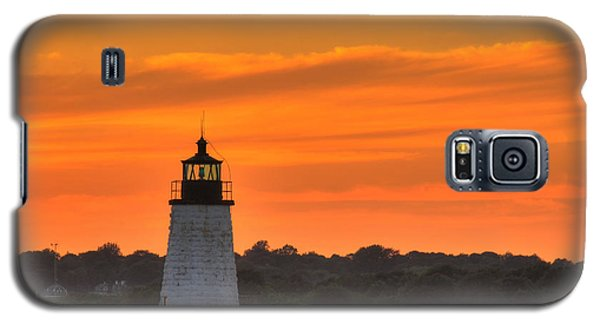 Goat Island Light Galaxy S5 Case by Andrew Pacheco