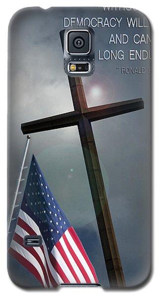 God And Democracy Galaxy S5 Case by Bob Pardue