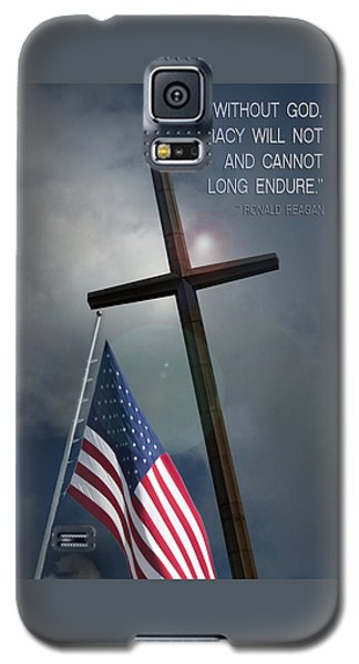 God And Democracy Galaxy S5 Case