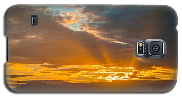 God Beams And Sunrise Galaxy S5 Case