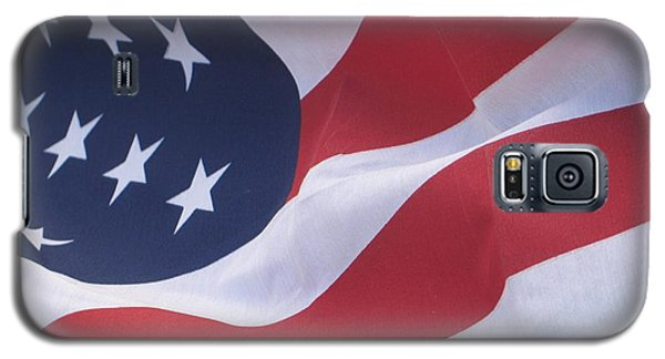 Galaxy S5 Case featuring the photograph God Bless America by Chrisann Ellis