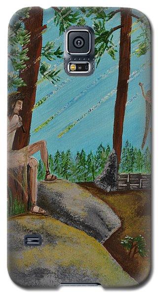 God Calls His Angels Galaxy S5 Case