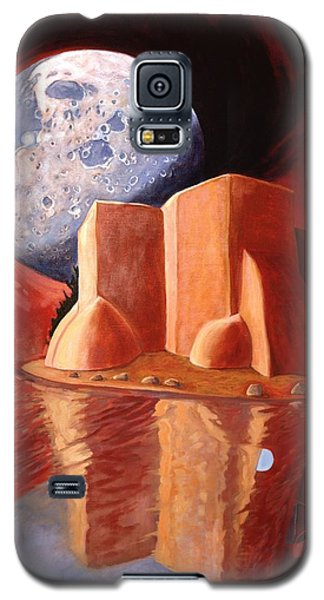God Is In The Moon Galaxy S5 Case