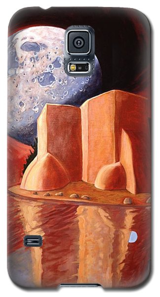 God Is In The Moon Galaxy S5 Case by Art James West