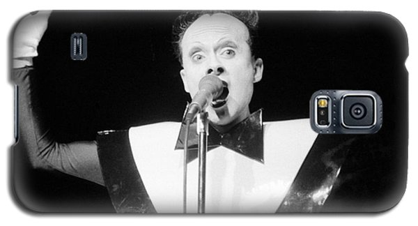 Galaxy S5 Case featuring the photograph God Klaus Nomi by Steven Macanka