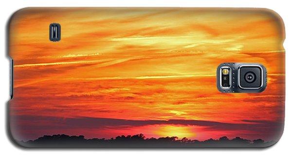 God Paints The Sky Galaxy S5 Case