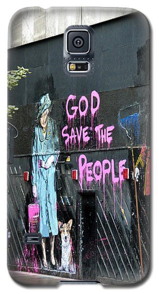 God Save The People Galaxy S5 Case