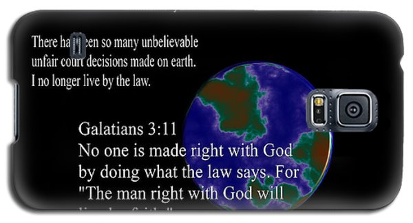 God Vs Law Galaxy S5 Case