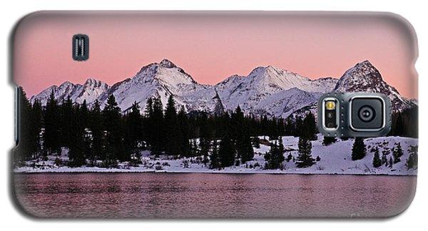God's Light Painting At Molas Lake Galaxy S5 Case