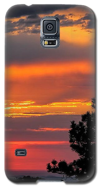 God's Spotlight Over Keystone Galaxy S5 Case