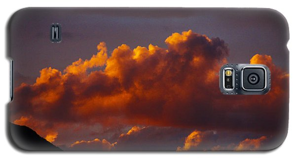 God's Sunset Cloud Galaxy S5 Case