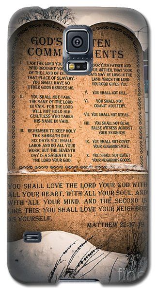 God's Ten Commandments Galaxy S5 Case