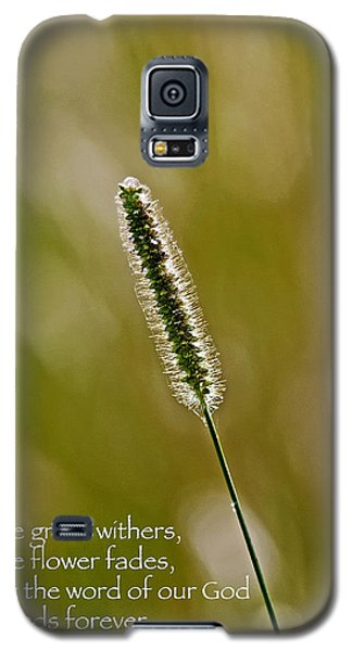 God's Word Stands Forever Galaxy S5 Case