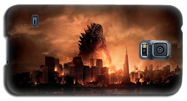 Godzilla 2014 Galaxy S5 Case