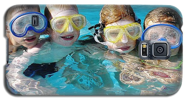 Galaxy S5 Case featuring the photograph Goggle Eyed Quartet by David Nicholls