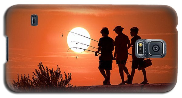 Going Fishing Galaxy S5 Case by Randall Nyhof