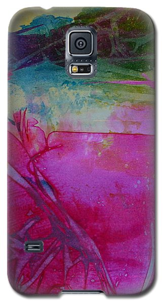 Galaxy S5 Case featuring the painting Going Tropical by Mary Sullivan