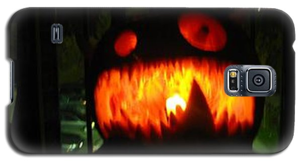Going Up Pumpkin Galaxy S5 Case