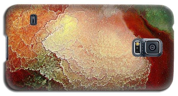 Gold Abstract Art - Gold Mine By Kredart Galaxy S5 Case