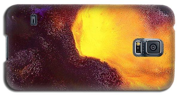 Gold Echo Horizontal Abstract Art By Kredart Galaxy S5 Case