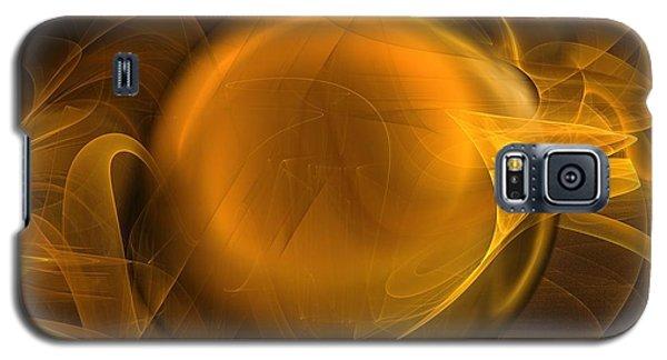Gold Galaxy S5 Case by Elizabeth McTaggart