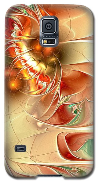 Gold Fish Galaxy S5 Case