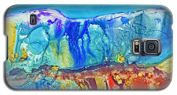 Gold In The Hills Galaxy S5 Case by Joan Hartenstein