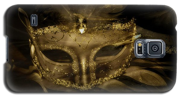 Gold In The Mask Galaxy S5 Case
