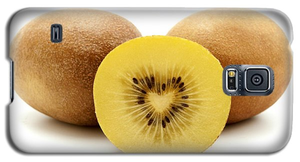 Galaxy S5 Case featuring the photograph Gold Kiwifruit by Fabrizio Troiani