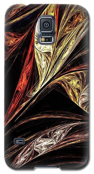 Gold Leaf Galaxy S5 Case by Elizabeth McTaggart