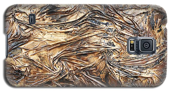 Gold Mining Galaxy S5 Case by Angela Stout
