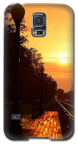 Golden Age Of Rails Galaxy S5 Case