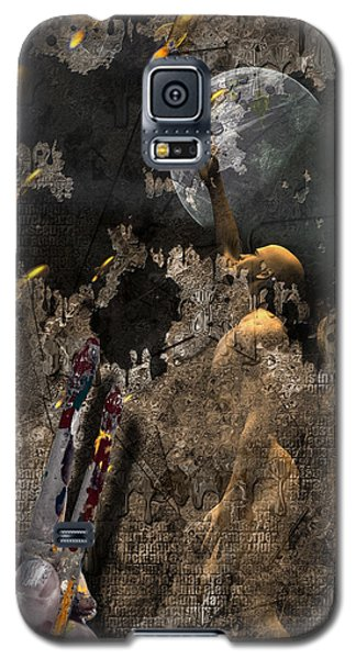 Golden Age Of Sci Fi Galaxy S5 Case by Bruce Rolff