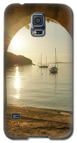 Golden Archway Sunset Galaxy S5 Case