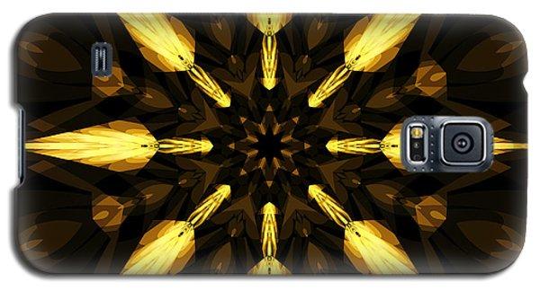 Golden Arrows Galaxy S5 Case by Elizabeth McTaggart