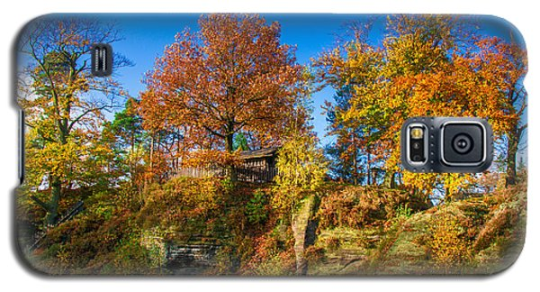 Golden Autumn On Neurathen Castle Galaxy S5 Case